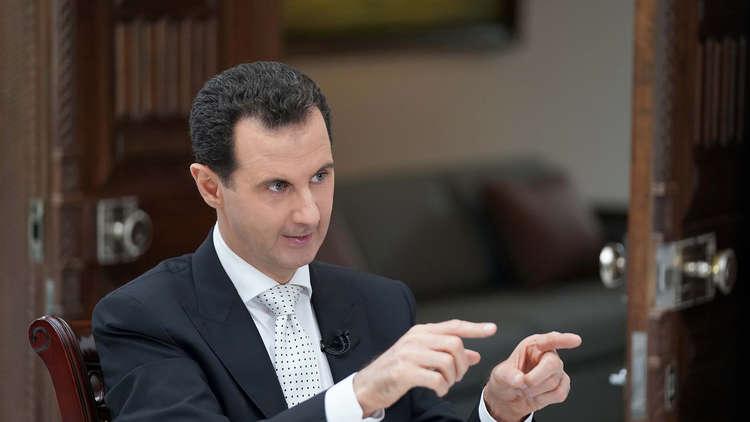 الأسد يوضح قانون