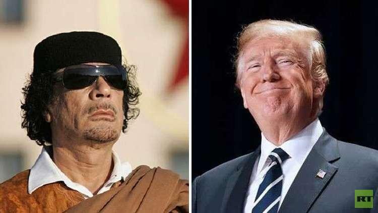 روبرت فيسك يرى في ترامب نسخة طبق الأصل عن القذافي!