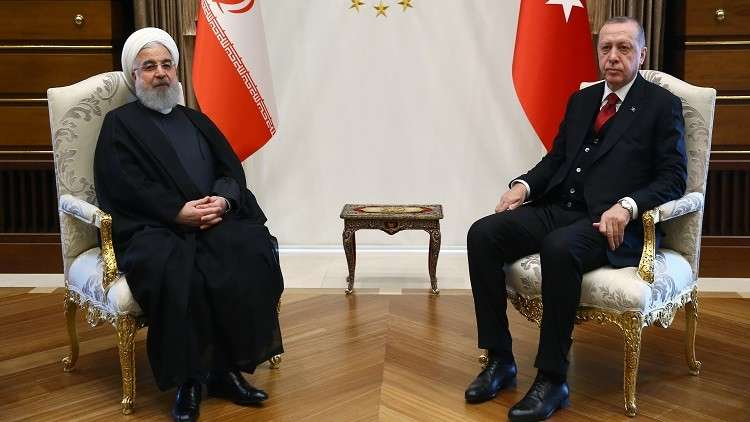 أردوغان يؤكد لروحاني خطأ قرار واشنطن تجاه نووي طهران