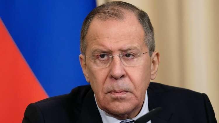 لافروف: نسعى لاستئناف مفاوضات التسوية السورية عبر جنيف