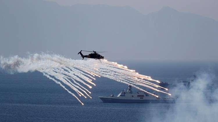 اختتام المناورات العسكرية المشتركة في إزمير التركية