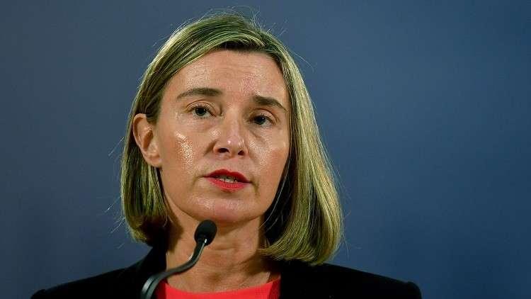 الاتحاد الأوروبي يعرب عن قلقه من القصف الإيراني على إسرائيل