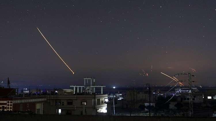 صور إسرائيلية جديدة للمواقع المستهدفة في سوريا
