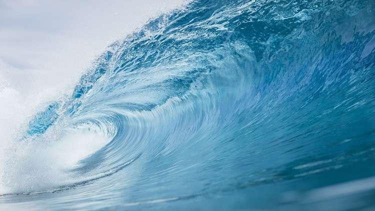 رصد أعلى موجة في النصف الجنوبي للكرة الأرضية