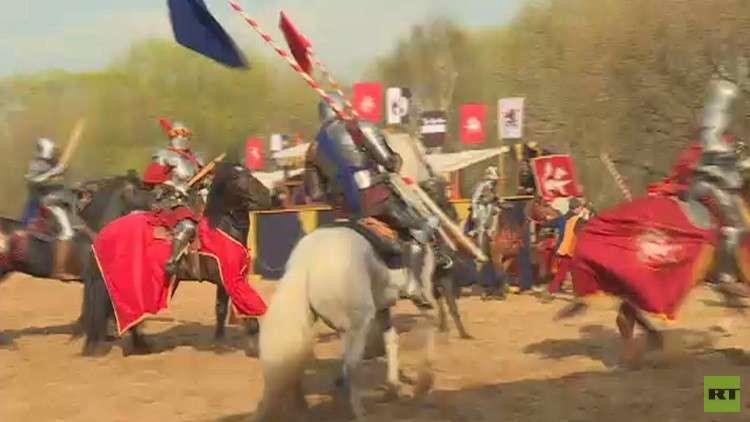موسكو تحيي بطولة الفرسان من عصر النهضة