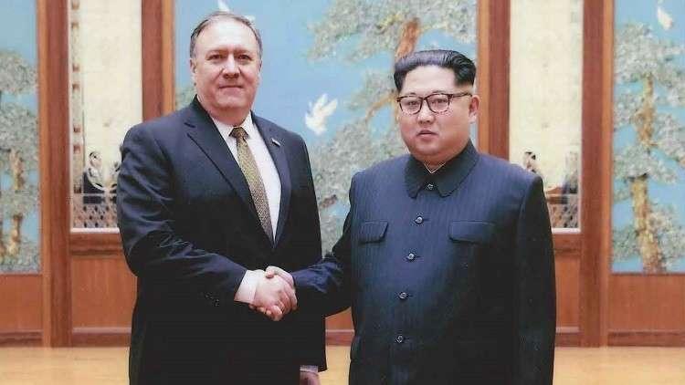 وزير الخارجية الأمريكي: ناقشت مع كيم الضمانات الأمريكية مقابل نزع السلاح النووي