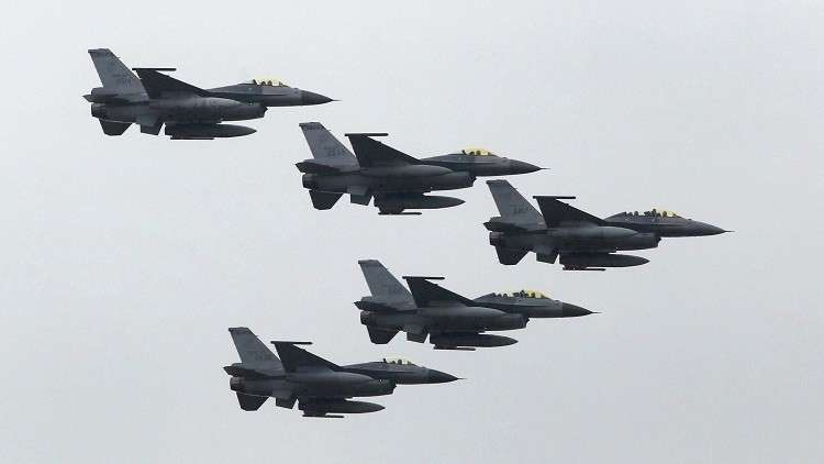 مقاتلات صينية تتدرب قرب مجال تايوان الجوي