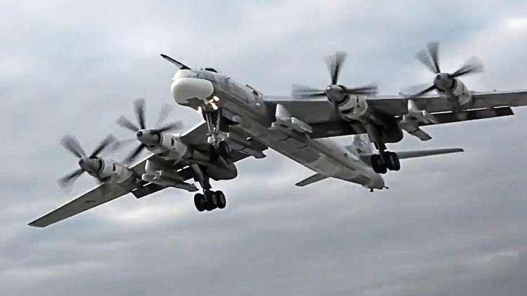 سلاح الجو الأمريكي يعترض قاذفتين روسيتين