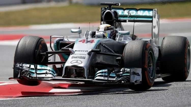 هاميلتون أول المنطلقين في جائزة إسبانيا الكبرى