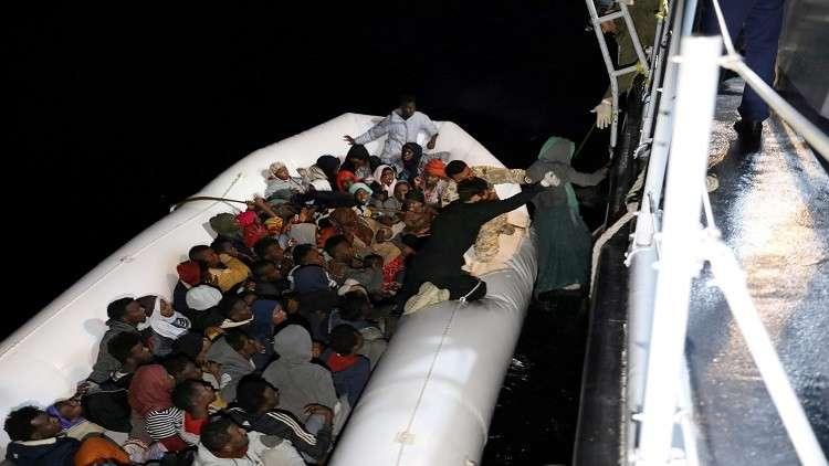 إنقاذ 73 مهاجرا قبالة السواحل الليبية
