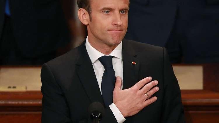 ماكرون بعد اعتداء باريس: لن نستسلم لأعداء الحرية