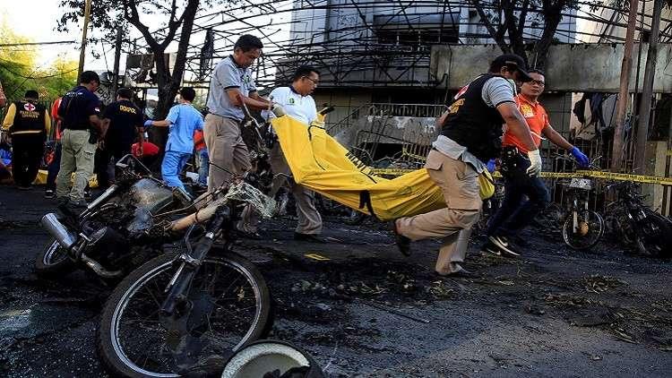 داعش فخخ طفلين وفتاتين قاصرتين لتفجير كنيسة إندونيسية