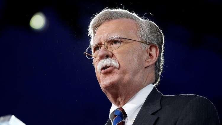 بولتون: واشنطن قد تفرض عقوبات على الشركات الأوروبية المتعاملة مع إيران