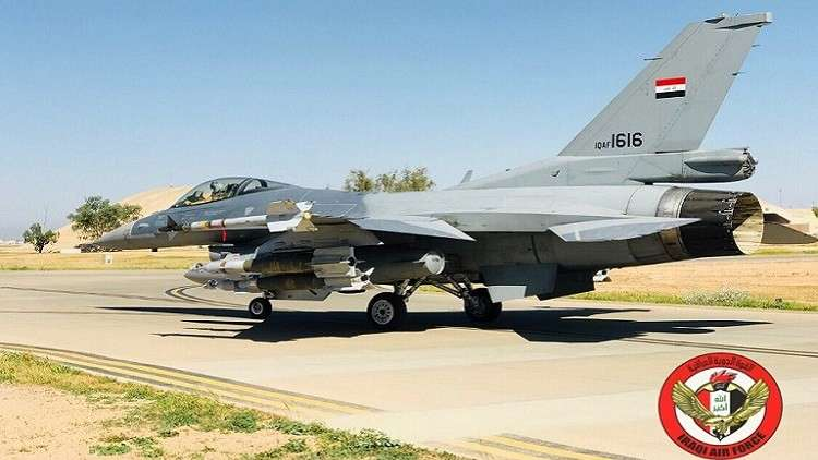سلاح الجو العراقي يدمر مقر قيادة داعشي داخل سوريا