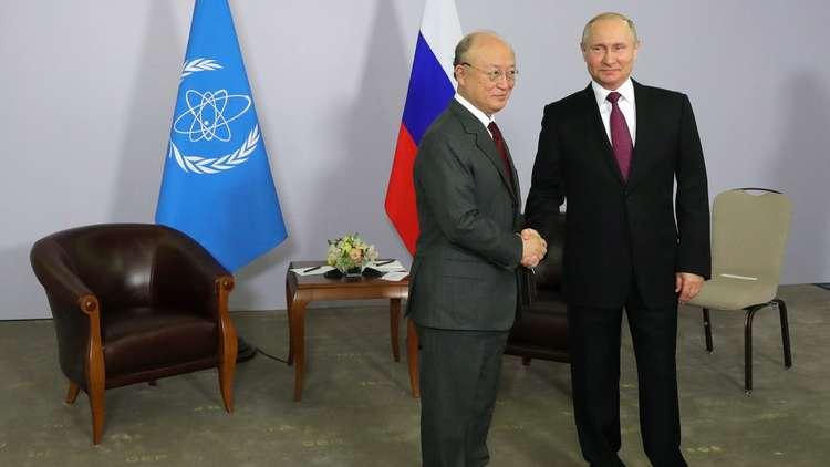 بوتين يؤكد التزام روسيا بالاتفاق النووي مع إيران