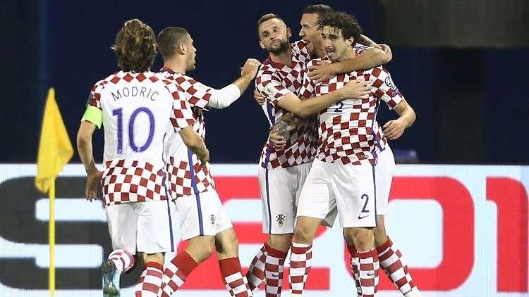 كرواتيا تكشف قائمتها الأولية لمونديال روسيا