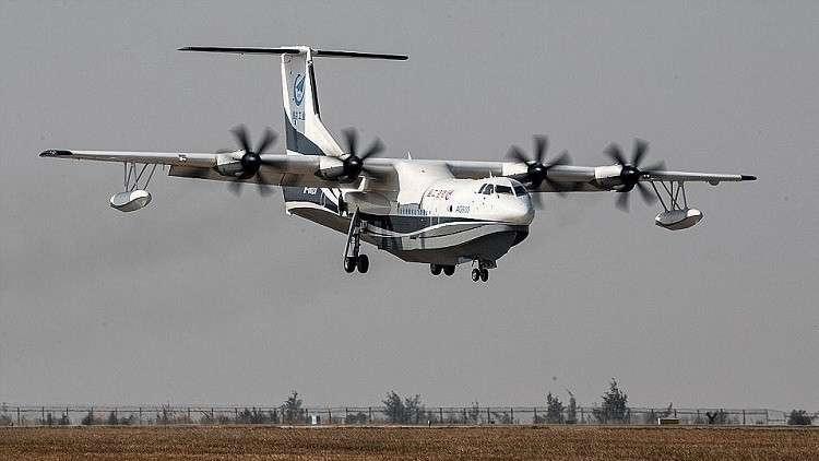 إطلاق أكبر طائرة برمائية في العالم