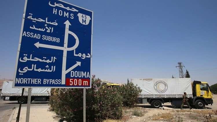 سوريا.. طريق الموت يعود إلى الحياة منتصف أيار