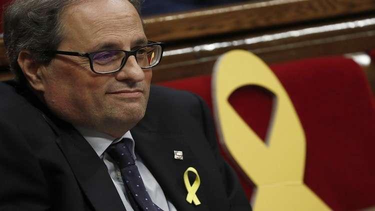 برلمان كتالونيا ينتخب انفصاليا زعيما للإقليم