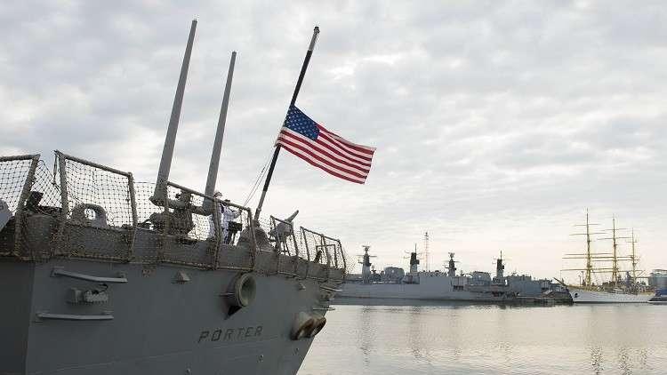 البحرية الأمريكية تراقب إيران عن كثب في الخليج
