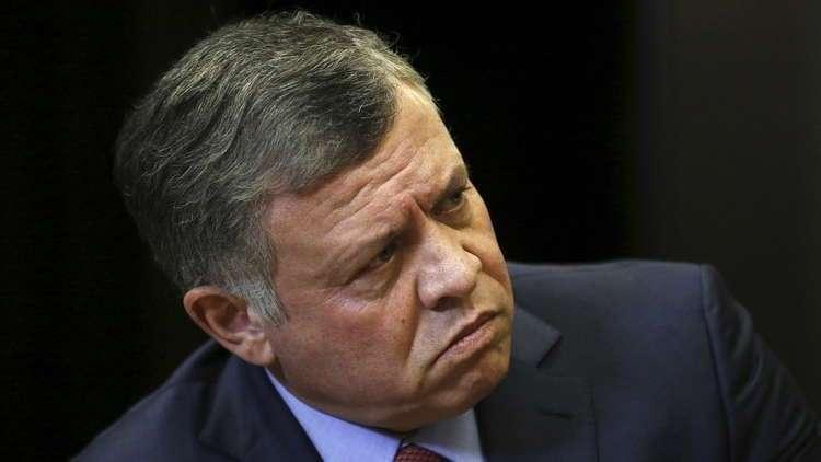 العاهل الأردني يدين الاعتداءات السافرة على الفلسطينيين