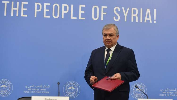 المبعوث الروسي إلى سوريا: عملية أستانا مستمرة ونتائج ملموسة