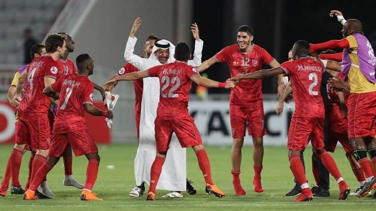 شاهد.. الدحيل القطري يكتسح العين الإماراتي في دوري الأبطال