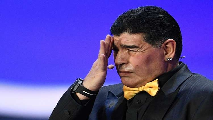 مارادونا رئيسا لمجلس إدارة نادي