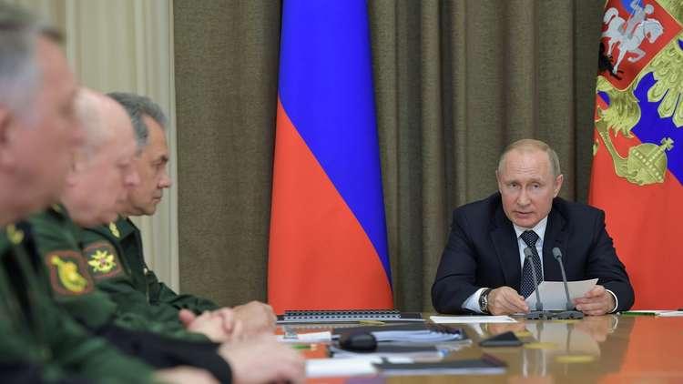بوتين: سفننا المزودة بالصواريخ المجنحة سوف ترابط في سوريا بشكل دائم