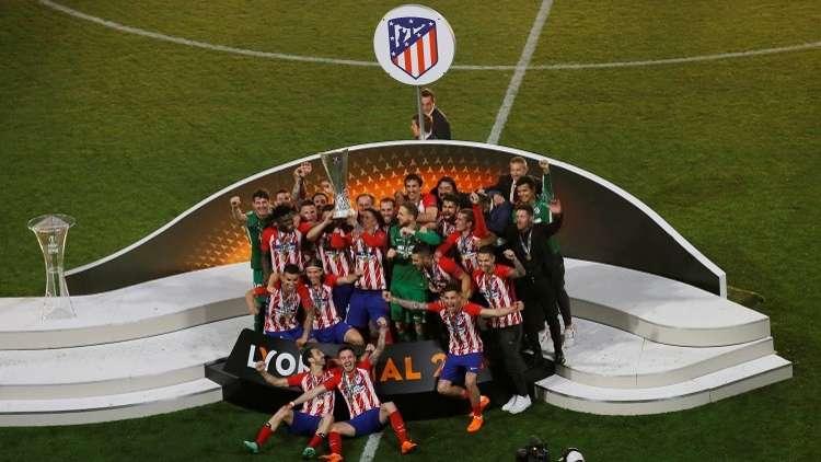 أتلتيكو مدريد يتوج بطلا للدوري الأوروبي.. (فيديو)