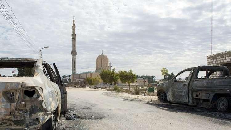 الجيش المصري يقضي على 19 متطرفا في سيناء