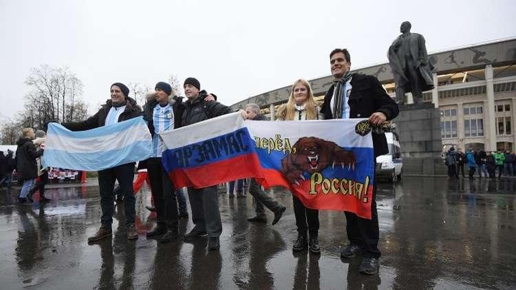 الاتحاد الأرجنتيني يعتذر عن إساءته للفتيات الروسيات