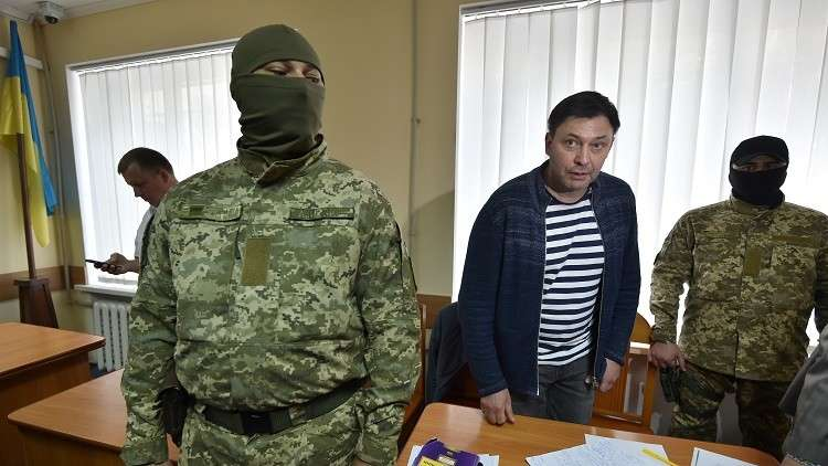 محكمة أوكرانية تقرر حبس الصحفي الروسي فيشينسكي 60 يوما