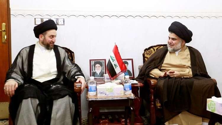 العراق.. تقارب بين الصدر والحكيم لتشكيل الكتلة الكبرى التي تسمي الحكومة