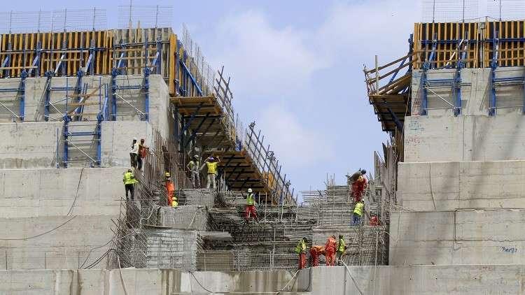 وزير الري الإثيوبي: بناء السد سيستمر على مدار اليوم دون توقف