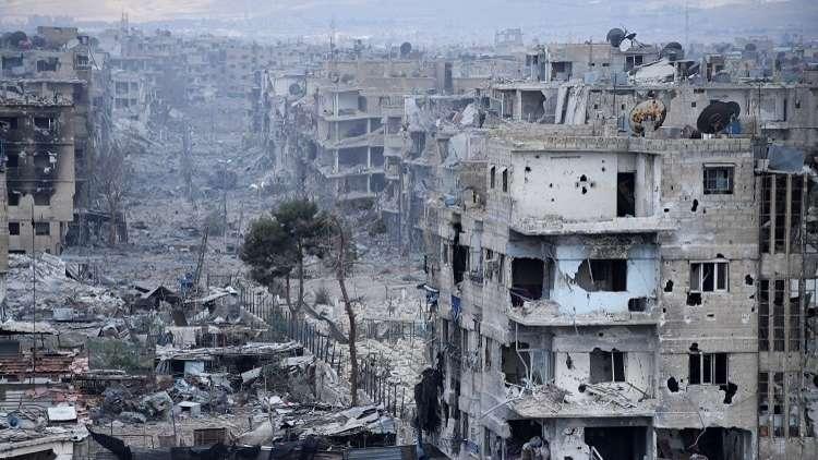 بدء إعمار مدينة سورية بعد عودتها إلى حضن الوطن