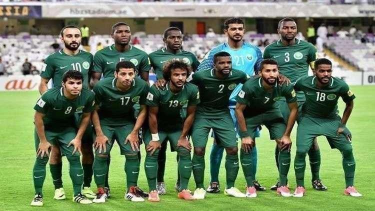 28 لاعبا في قائمة السعودية الأولية لمونديال روسيا