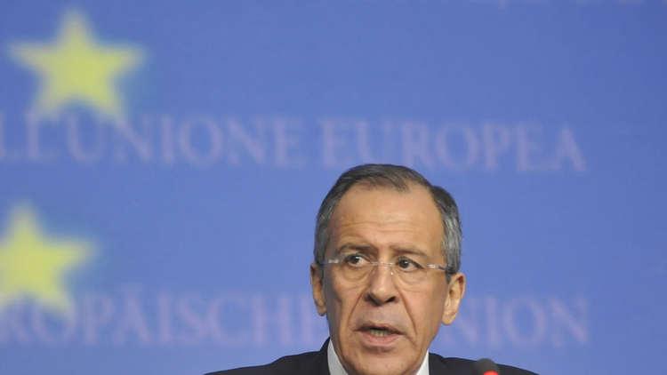 لافروف يدعو الاتحاد الأوروبي للتخلي عن معاداة روسيا