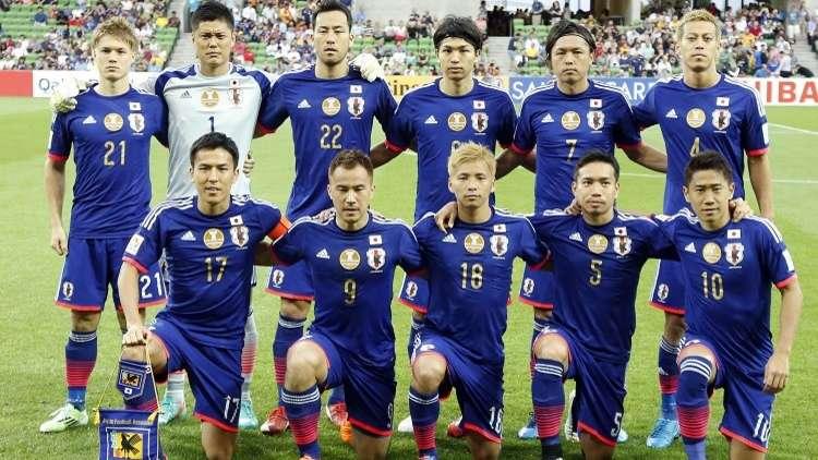 اليابان تخوض مونديال 2018 بوجوه مخضرمة