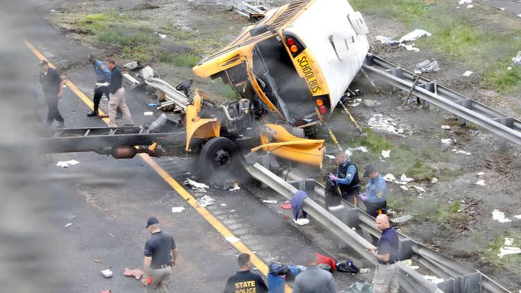 قتيلان و43 مصابا بحادث مروري في نيوجيرسي الأمريكية