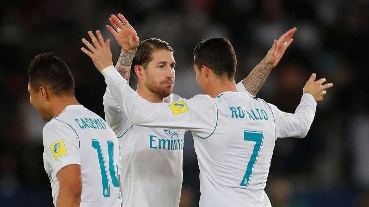 شاهد.. قائد ريال مدريد