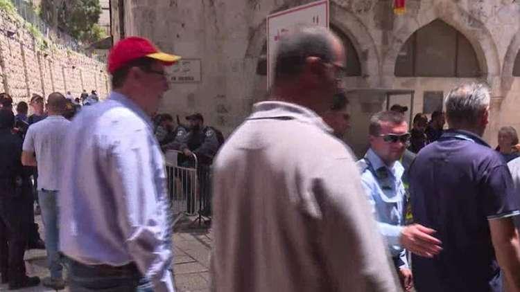 إجراءات إسرائيلية مشددة في القدس
