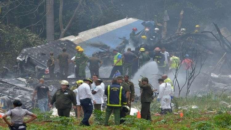شهود عيان عن تحطم الطائرة في هافانا: انفجار هز كل شيء