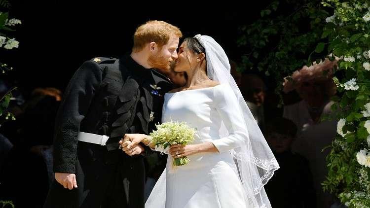 في زفاف ملكي.. إعلان الأمير هاري وميغان ماركل زوجا وزوجة