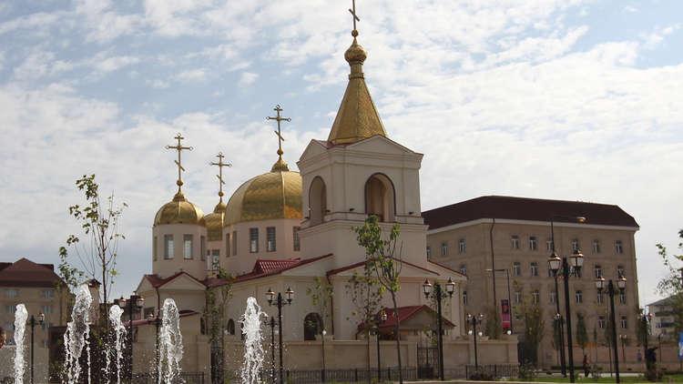 تصفية 4 مسلحين حاولوا احتجاز رهائن في كنيسة بغروزني ومقتل شرطيين ومدني خلال العملية