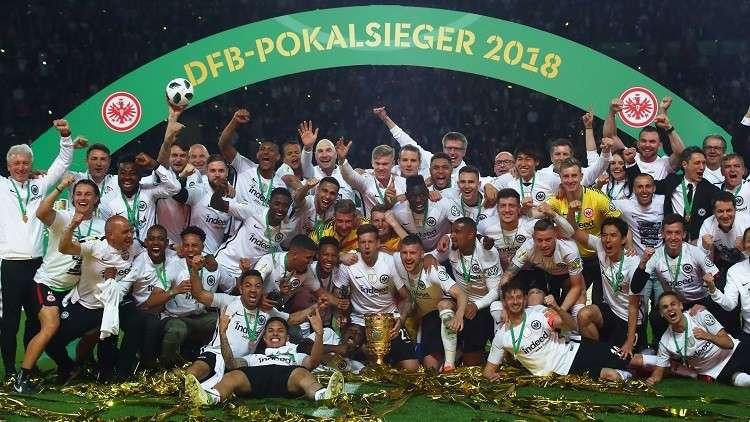 مفاجأة.. آينتراخت فرانكفورت ينتزع كأس ألمانيا من بين مخالب الديناصور البافاري