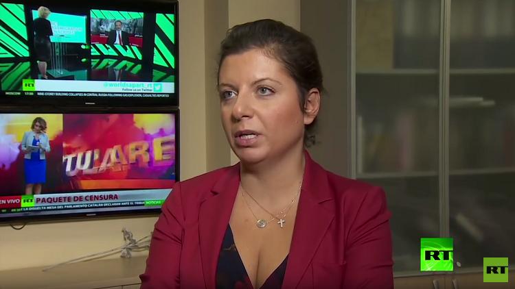 سيمونيان تستنكر رد فعل الغرب على اعتقال فيشينسكي وتصفه بالـ