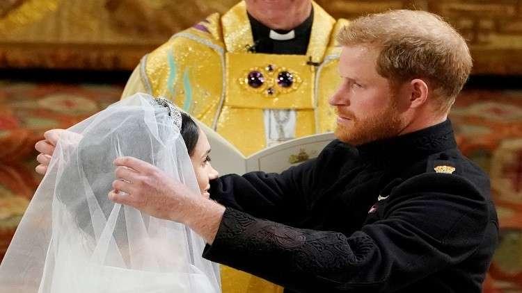 الجمبري الإسكتلندي لهاري وميغان قبيل ليلة زواجهما