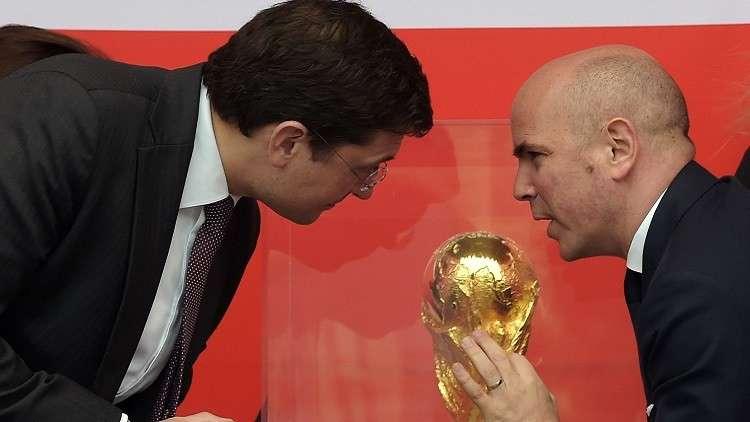 كأس العالم تصل إلى محطة نيجني نوفغورود