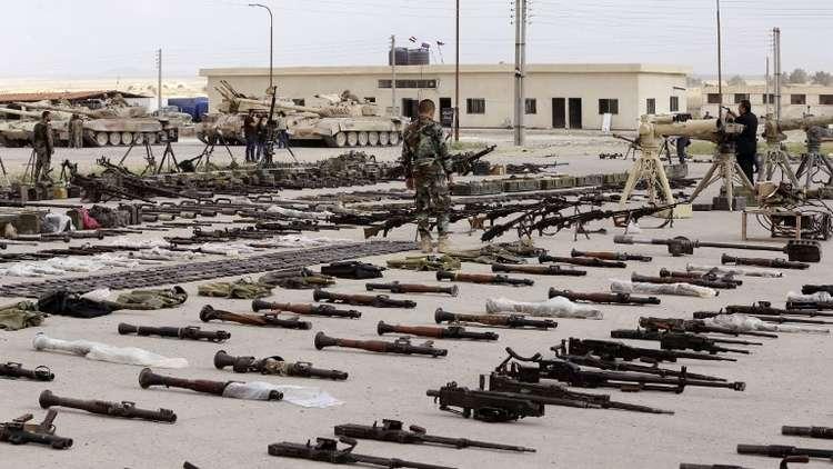 العثور على مستودعات أسلحة غربية في حمص